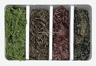 Mixed salted Seaweed